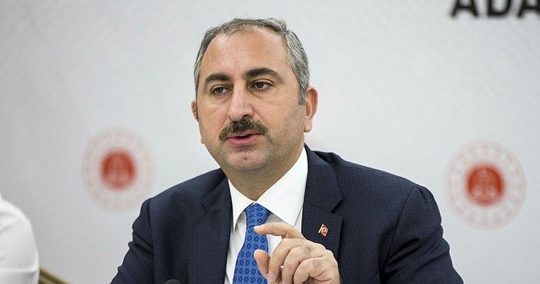 Adalet Bakanı Gül: Yargı Türk milletine sırtını dönemez