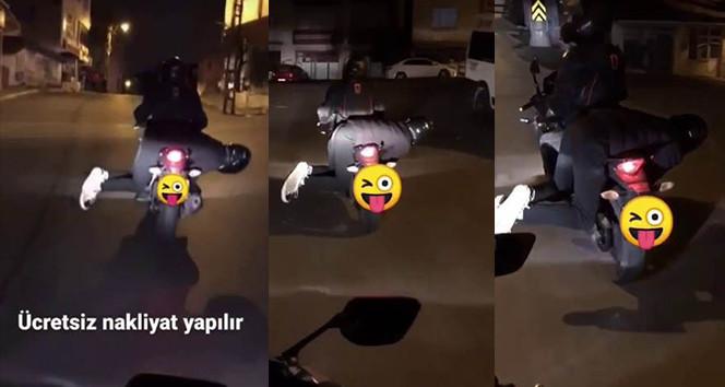 İstanbul trafiğindeki ölümüne eğlence kamerada!