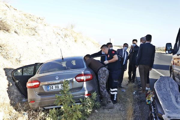 Ulaştırma Bakanı Karaismailoğlu'nun konvoyunda kaza!