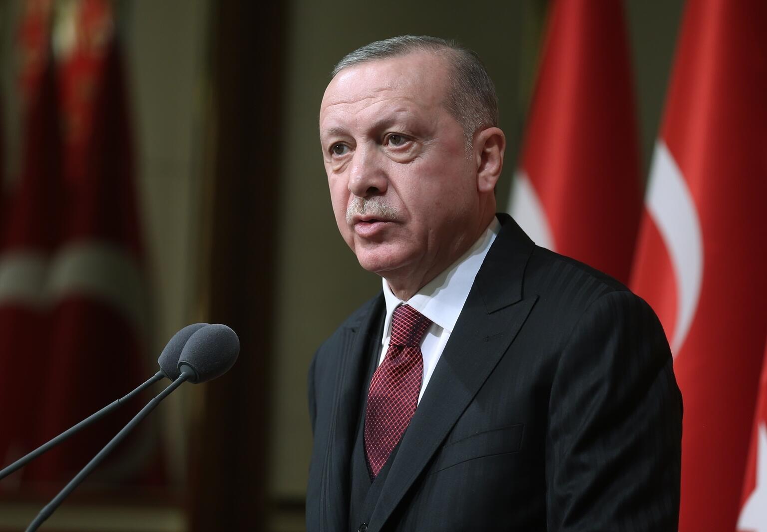 Cumhurbaşkanı Erdoğan'dan Burhan Kuzu mesajı