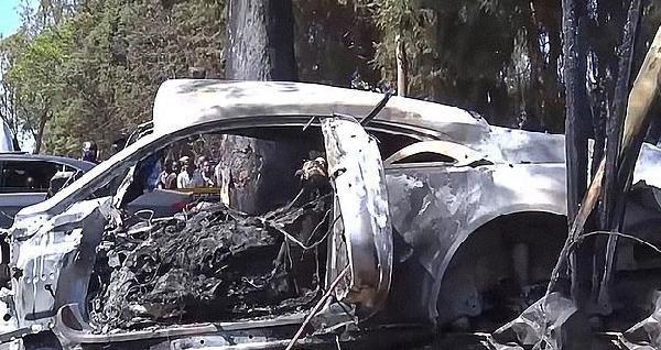 Zimbabveli milyoner lüks aracıyla kaza yaptı: 4 ölü