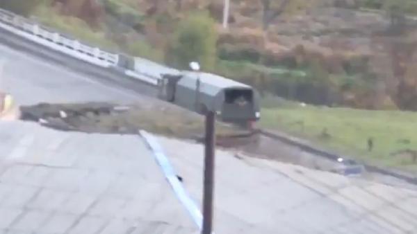Rus askerleri Karabağ'da! İşte ilk görüntüler