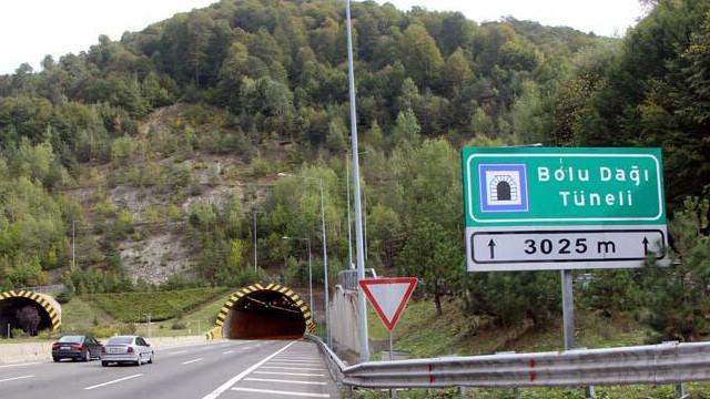 Bolu Dağı Tüneli, 28 gün sonra trafiğe açıldı