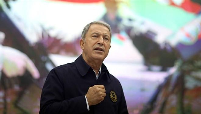 Milli Savunma Bakanı Akar: ''Bu bir uyanıştır!''