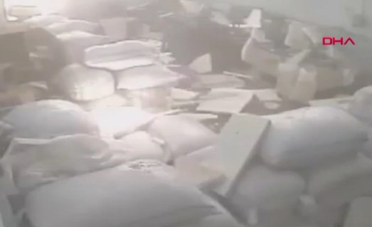 Havai fişek fabrikasındaki patlamanın güvenlik kamerası görüntüleri