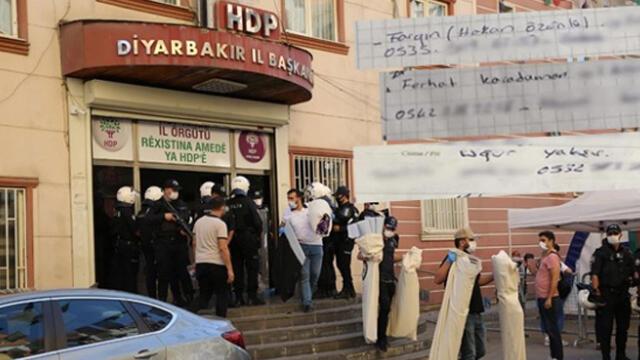 HDP binasında ele geçirilen ajandadan bakın ne çıktı