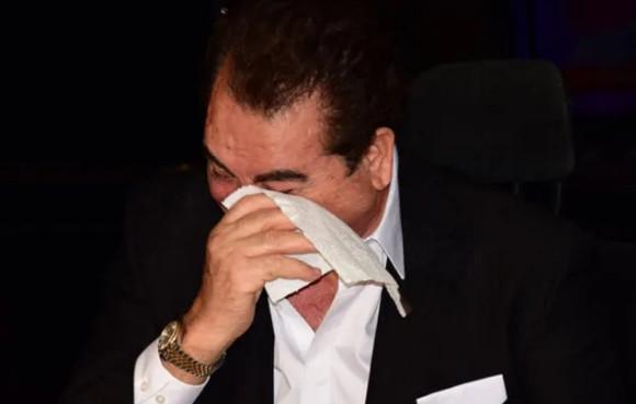 İbrahim Tatlıses'in gözyaşlarını tutamadı