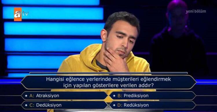 Kim Milyoner Olmak İster'de yarışmacıyı yakan futbol sorusu - Resim: 1