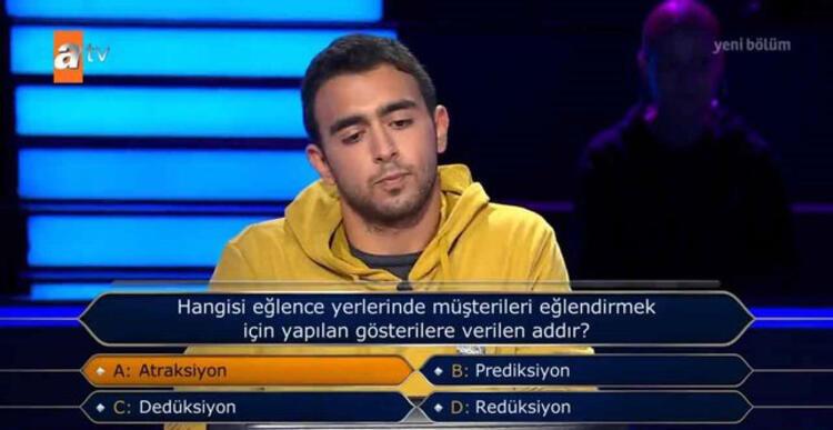 Kim Milyoner Olmak İster'de yarışmacıyı yakan futbol sorusu - Resim: 2