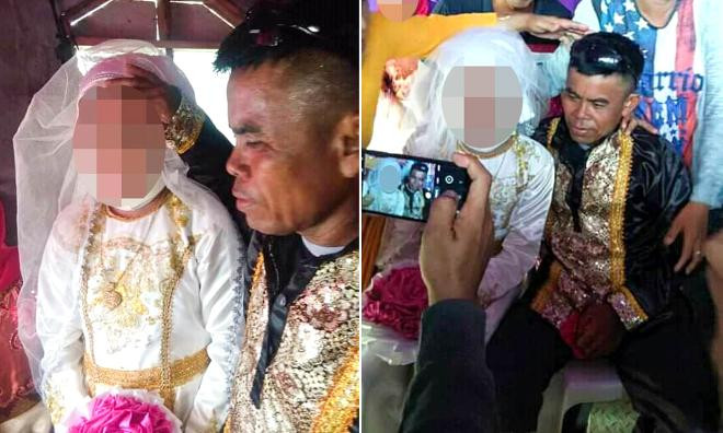 13 yaşındaki çocuk, 48 yaşındaki adamla evlendirildi
