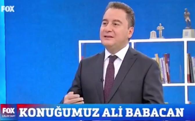 Babacan, Erdoğan'ın teklifini neden kabul etmediğini açıkladı