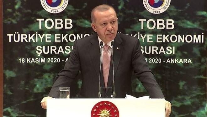 Erdoğan'dan faizlerde indirim sinyali