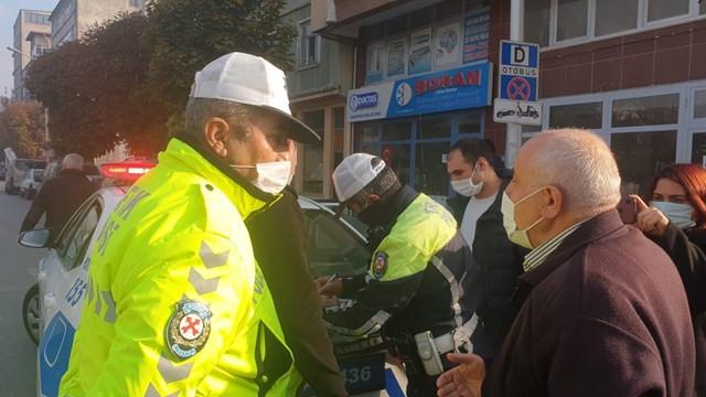 Fazla yolcuyla polise yakalandı, savunması ''pes'' dedirtti