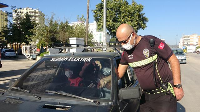 Cam filmiyle yakalanan sürücü: O zaman yanıma koruma verin