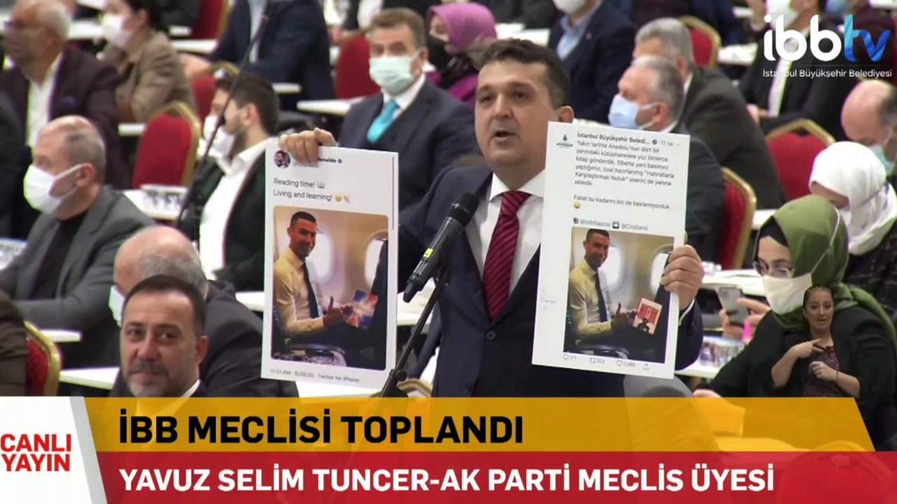 İBB Meclisi'nde fotomontaj tartışması! AK Partili isim rezil oldu