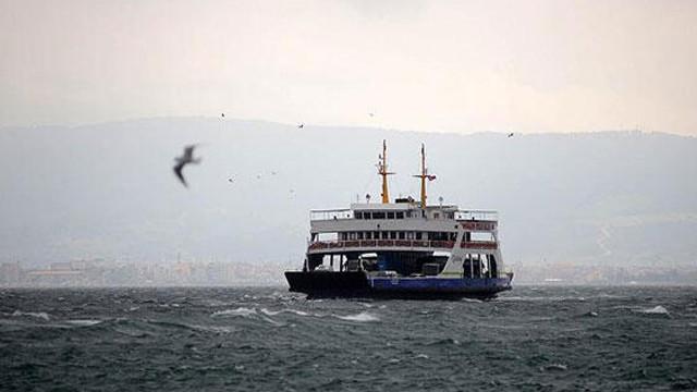 Kuzey Ege'de feribot seferlerine engel
