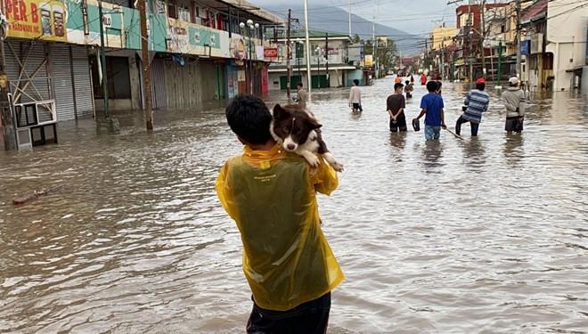 Filipinler'de Goni Tayfunu: Ölü sayısı 10'a yükseldi