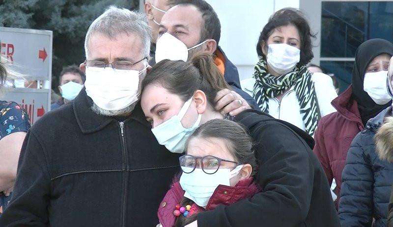 Koronavirüsten hayatını kaybeden Emine Hemşire'ye son bakış