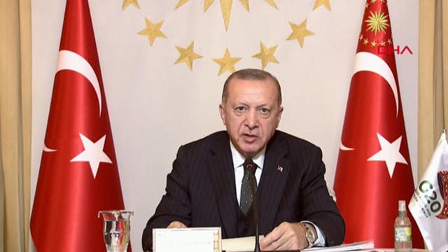 Cumhurbaşkanı Erdoğan: DEAŞ'la göğüs göğüse çarpışan tek ülkeyiz