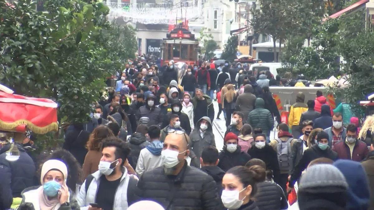 Taksim'de yine aynı manzara