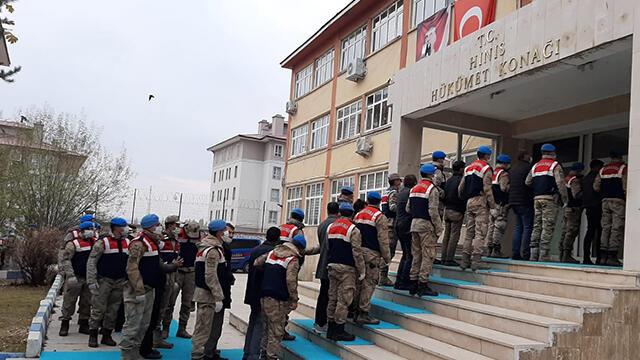Erzurum'da silah ticareti operasyonu: 10 kişi tutuklandı