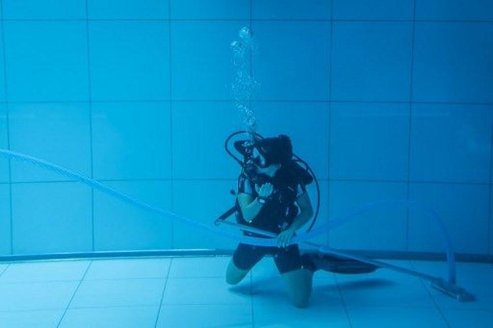 İşte dünyanın en derin yüzme havuzu