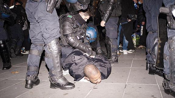 Fransız Bakanı şoke eden görüntüler