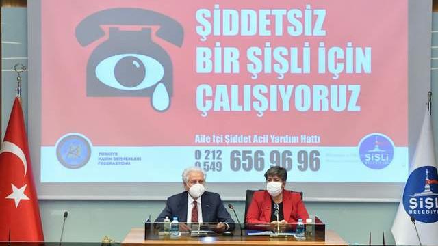 Şişli Belediyesi Türkiye Kadın Dernekleri Federasyonu ile protokol imzaladı