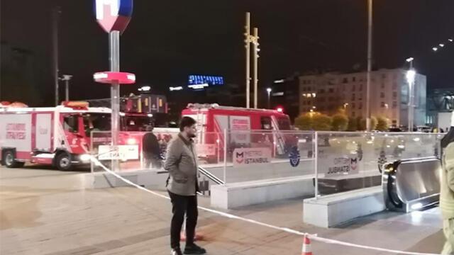 Taksim metrosunda intihar girişimi! İstasyon kapatıldı