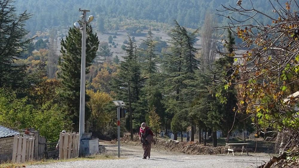 Köyün yarısı korona oldu, kimse ölmedi