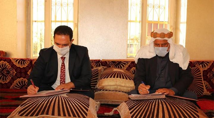 Devlet aşiret ile protokol imzaladı