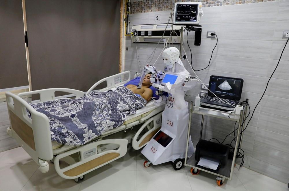 Mısır'da koronavirüse karşı ''robotlu'' mücadele