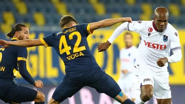 Trabzonspor evine 3 puanla döndü: Ankaragücü 0-1 Trabzonspor