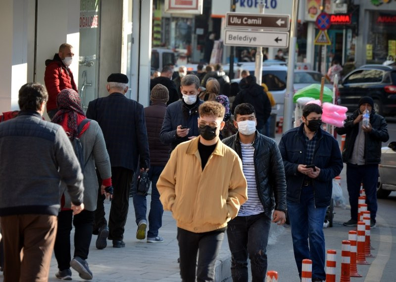 Trabzon'un koronavirüs haritası kırmızıya döndü