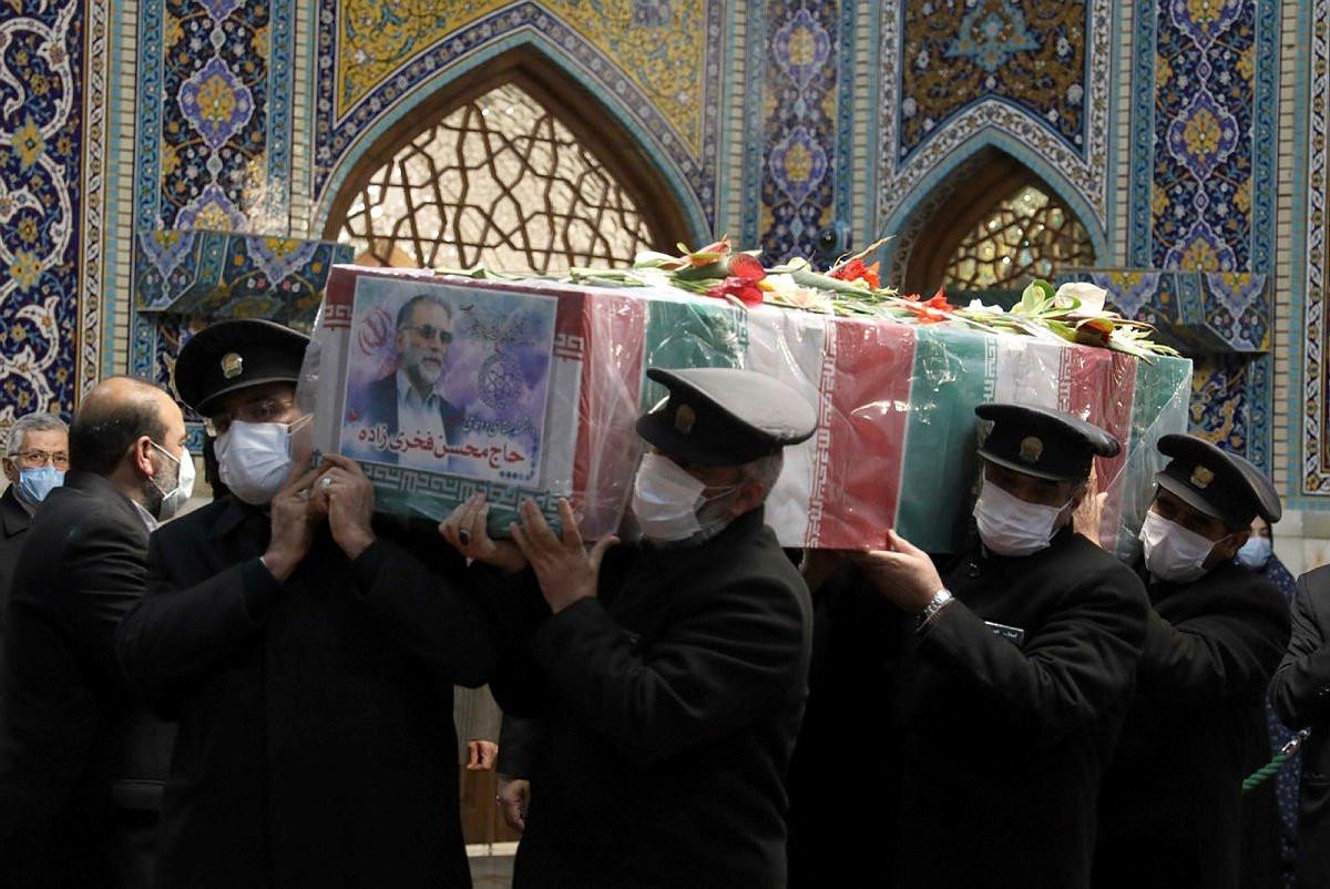 Nükleer fizikçi Fahrizade'ye cenaze töreni düzenlendi