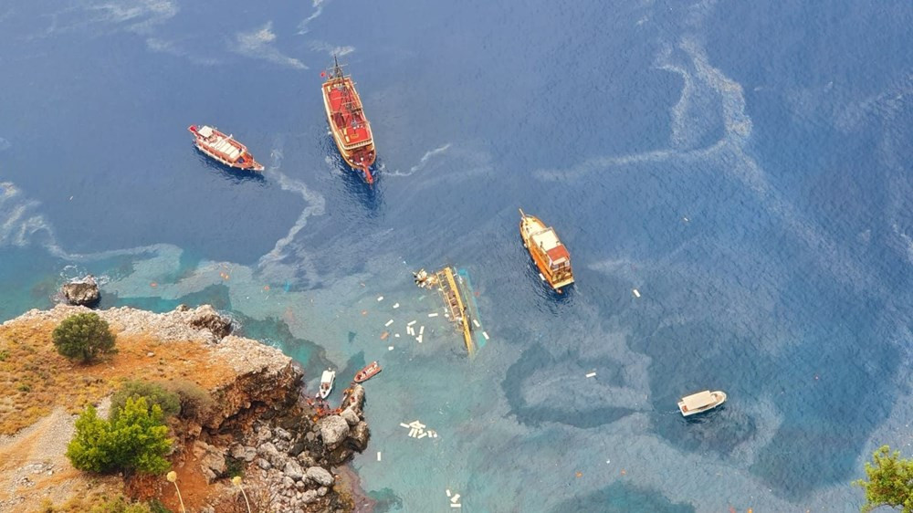 Antalya'da batan tur teknesinden de kötü haber geldi!