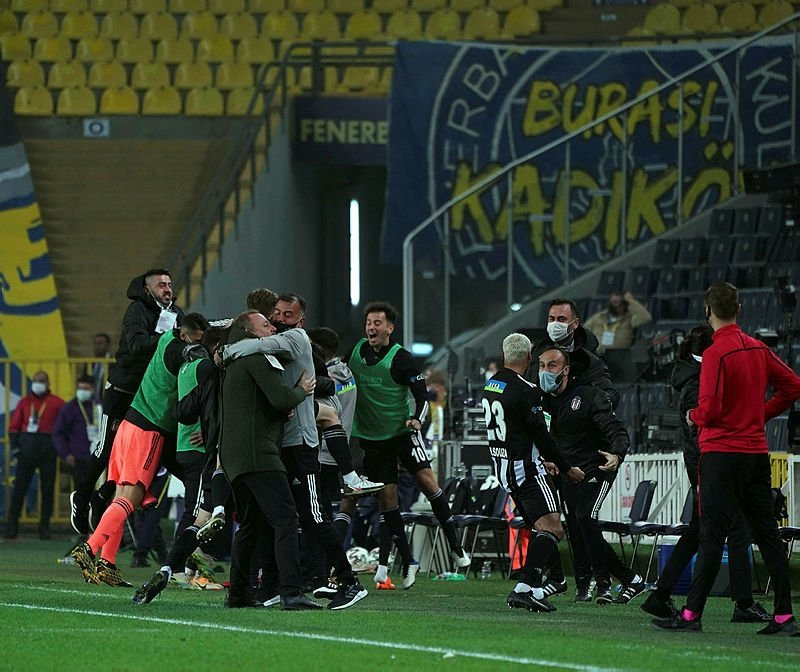 Fenerbahçe - Beşiktaş derbisinde gergin anlar