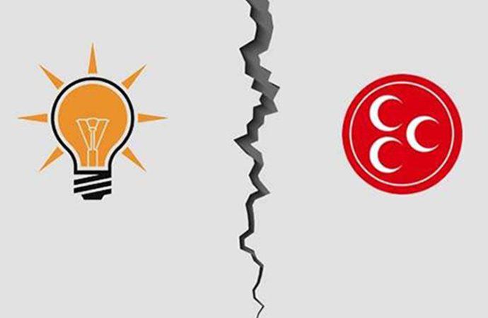 AK Parti ile MHP arasında kriz çıktı