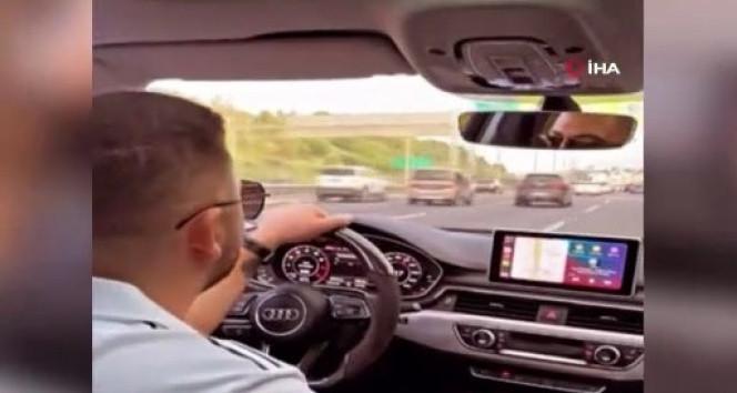 İstanbul trafiğinde maganda terörü kamerada