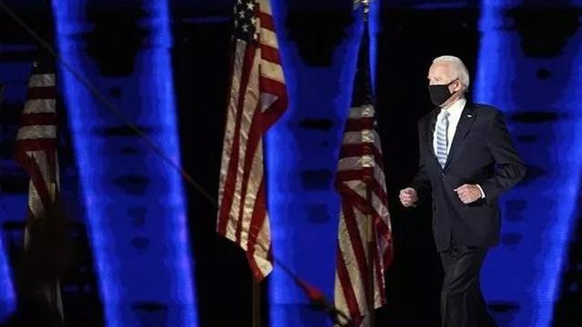 ABD'nin yeni Başkanı Biden ve yardımcısı Harris'in zafer konuşması