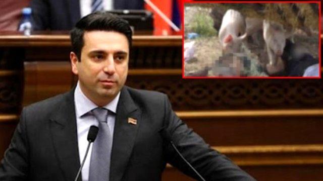 Ermeni siyasetçiden alçak paylaşım! Azerbaycanlı şehit askerlerin naaşını d