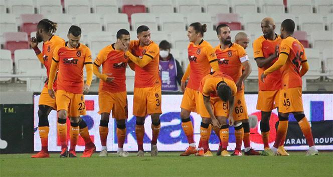 Galatasaray, Sivas'tan 3 puanı kaptı