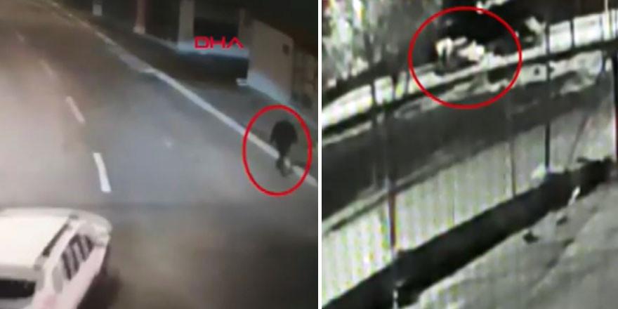 İstanbul'daki cinayet anı kamerada