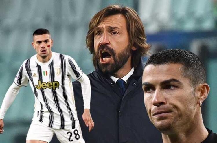 Juventus'ta krizin adın Pirlo