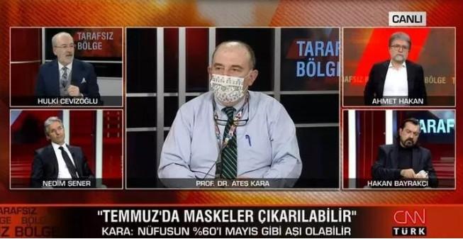 Bilim Kurulu Üyesi Prof. Dr. Kara ''maskesiz hayat'' için tarih verdi