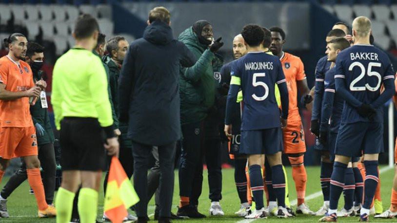 UEFA'dan Başakşehir'e ''ırkçı ifade'' soruşturması