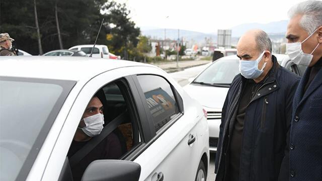 Karantinayı ihlal eden hasta, Vali Dağlı'ya yakalandı