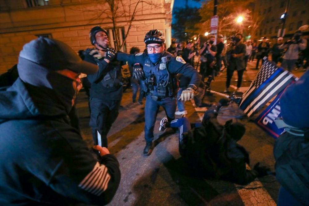 ABD'de tehlikeli gerilim! Sokaklar yine karıştı