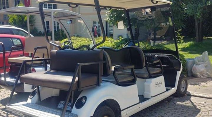 Birilerinin ''israf'' denilen golf araçları bakın neden alınmış!