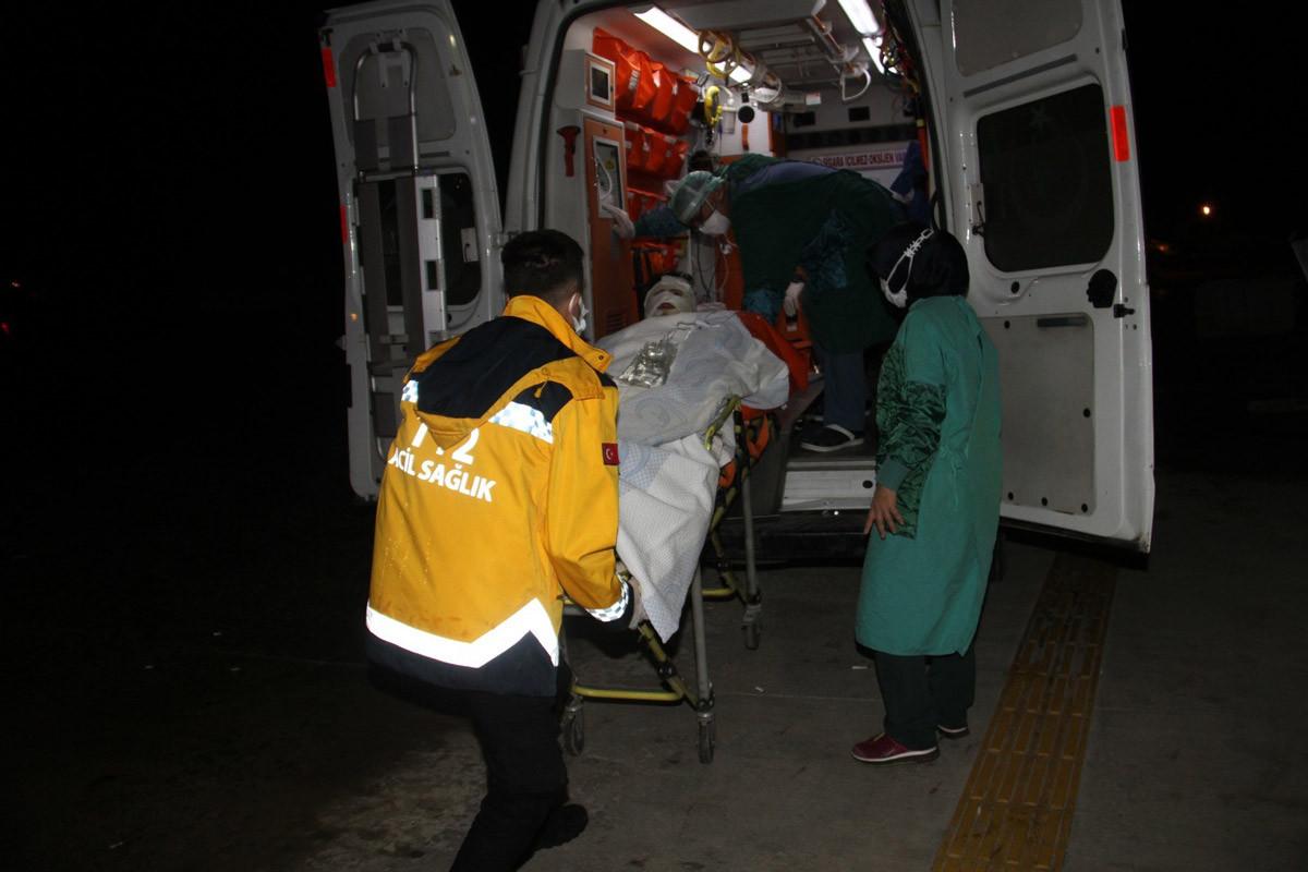 Konya'da korkutan patlama! Yaralılar var!